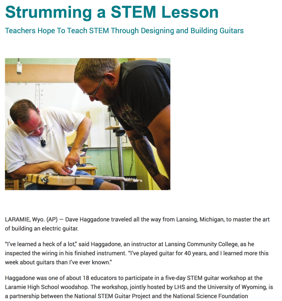 Strumming a STEM Lesson