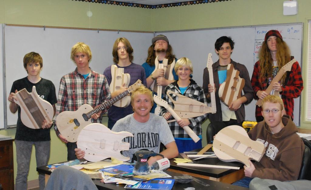 GuitarBuildingGroup- Grauer School